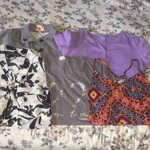 Hollister M shirt bundle - various brands